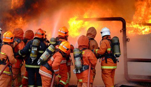 Dua Premis Musnah Dalam Kebakaran Di Dungun