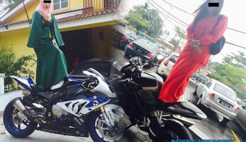 Hadoi… Trend Terbaru Gadis Melayu Di Hari Raya Tahun Ini