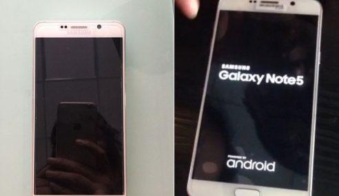 Gambar Samsung Galaxy Note 5 Tertiris Ke Arena Web