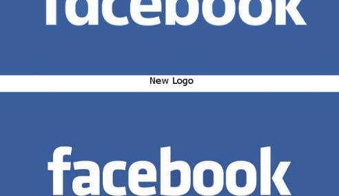 Font Logo Facebook Dah Ditukar, Korang Perasan Tak?