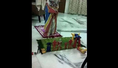 Fathul Bari: Tak Sesuai Buat Lawak 'Ultraman Bersolat'