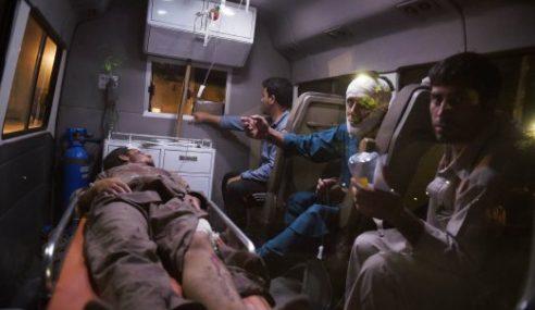 7 Maut, Beratus Cedera Bom Kereta Meletup Di Kabul