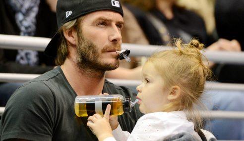 David Beckham Bidas Artikel Kerana Kritik Anaknya