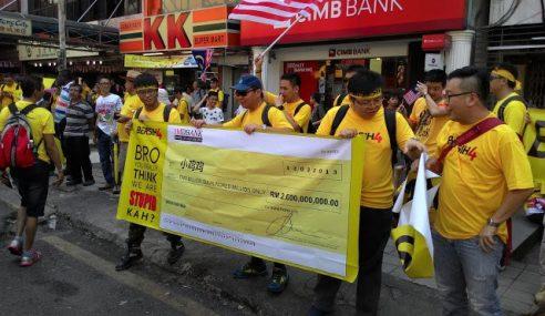 Lebih 90% Peserta Bersih 4.0 Adalah Bangsa Cina! Kenapa?