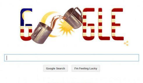 Google Sambut Hari Kemerdekaan Dengan Doodle Teh Tarik