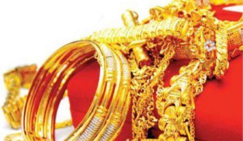 Perompak Larikan 10 Dulang Emas Bernilai RM500,000