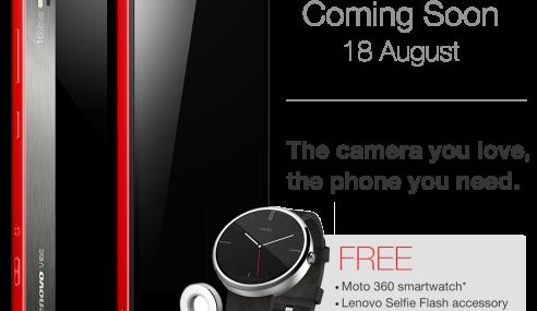 Lenovo Menawarkan Jam Pintar Percuma Buat 100 Pembeli Terawal
