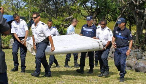Australia Sahkan Serpihan Itu Milik MH370