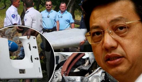 MH370: Pasukan Malaysia Jumpa Tingkap Pesawat?