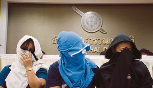 5 Ditahan Seludup Wanita Thailand Jadi Hamba Seks