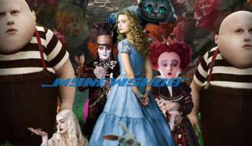 Filem 'Alice In Wonderland' Kesan Sakit Mental