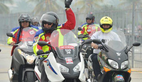 10,000 Motosikal Berkuasa Tinggi Berhimpun Di Putrajaya