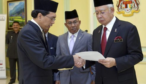 Najib Terima Sumbangan 534 Lembu Korban Parlimen Pekan