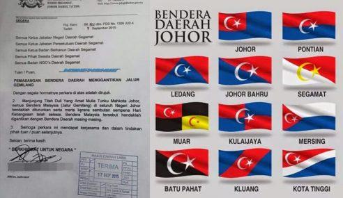 Penjelasan Di Sebalik Arahan Turunkan Jalur Gemilang Di Johor