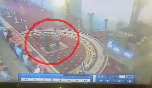 VIDEO: Detik Imam Dua Masjid Negara Ditampar
