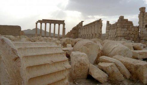 IS Musnahkan Sebahagian Kuil Bel Di Syria