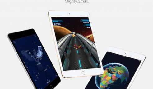 Apple Menyenaraikan iPad Mini 4 Pada Harga Bermula RM1599