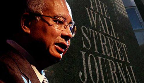 AS Tiada Hak Ganggu Najib Hanya Sebab Artikel WSJ, NYT