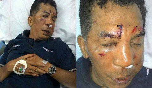 Pekerja Asing Belasah Polis, Rampas Pistol Di Penang