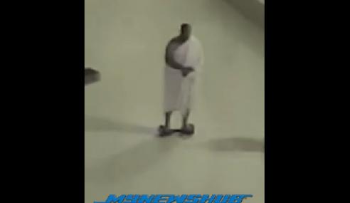 Video: Tawaf Kaabah Pakai Alat Peluncur Elektronik?