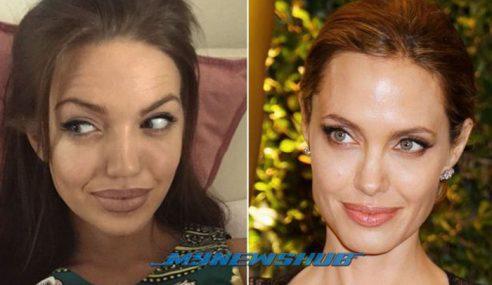 Wanita Di Scotland Jadi Popular Sebab Mirip Angelina Jolie