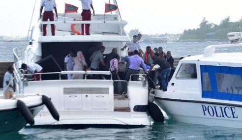 Naib Presiden Maldives Disyaki Letup Bot Laju Presiden