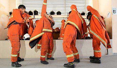 11,840 Anggota, Pegawai Bomba Dibeku Cuti Sempena Aidilfitri