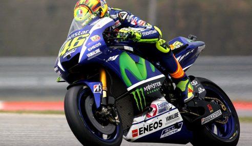 Rossi Akan Bermula Dari Petak Belakang Di GP Valencia