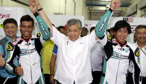 Zahid Saksi Sesi Kelayakan Grand Prix Motosikal Malaysia
