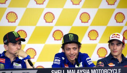 MotoGP: Saingan Sengit Antara Rossi & Lorenzo Di Sepang