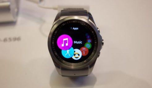 LG Perkenalkan Jam Pintar Dengan Sokongan LTE