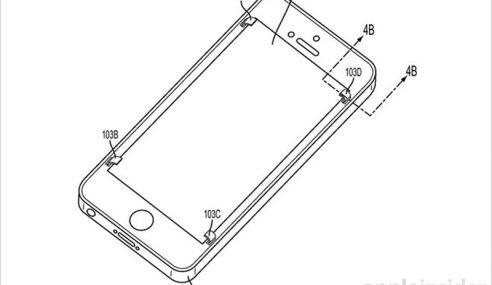 Apple Patenkan Teknologi Baru Elak Skrin Retak Apabila Jatuh
