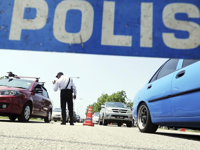 Polis Keluarkan 73 Saman Dalam Operasi Bersepadu Di Melaka