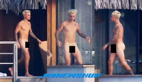 Gambar Justin Bieber Telanjang Ketika Bercuti Tersebar