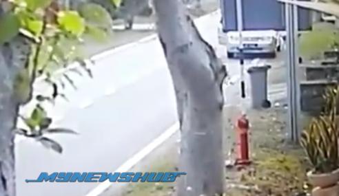 Video: Perompak Berpisau 'Tunggu' Mangsa Dalam Kereta Di Johor