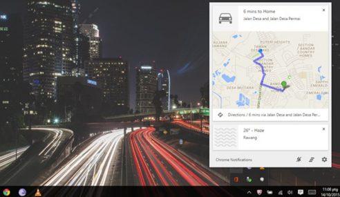 Google Menghentikan Sokongan Notification Center Pada Chrome