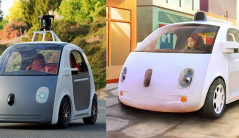 Google Dedahkan Prototaip Kereta Dipandu Automatik