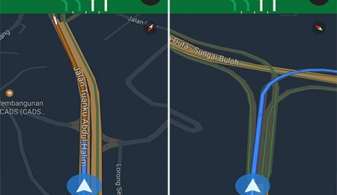 Memandu Lebih Selamat Dengan 'Lane Assist' Google Maps