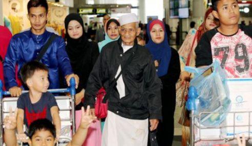 Jemaah Haji Yang Ditemui Selepas Hilang Di Makkah Selamat Pulang