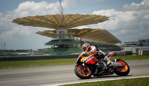 MotoGP Di Litar Sepang Tetap Terus Waima Ketika Jerebu