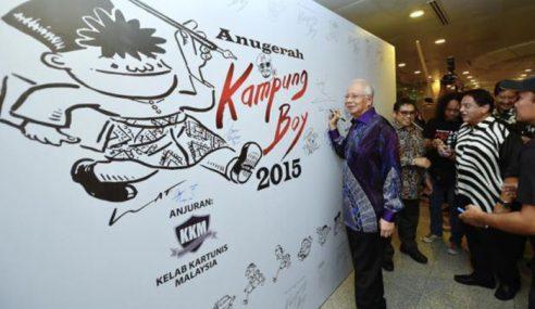 Kartunis Perlu Jaga Sensitiviti Dalam Berkarya – Najib