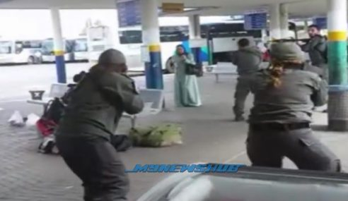 Kejam.. Video Tentera Israel Tembak Wanita Palestin Tersebar
