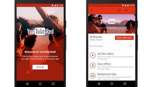 YouTube Red Diumumkan, Langganan Berbayar Tanpa Iklan