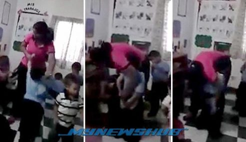 Video: Pengasuh Suntik Punggung Budak Sebab Nakal Dikecam