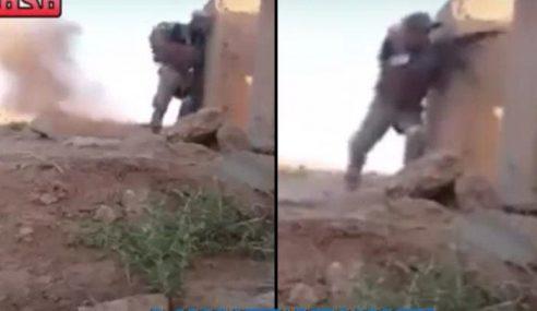Video: Tentera Iraq Perbodohkan Penembak Tepat Militan IS