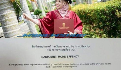 Hebat! Baru 25 Tahun, Wanita Ayu Ni Dah Ada PhD Pharmacolgy !