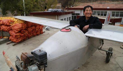 Petani Bina Pesawat Tapi Ralat Tak Boleh Terbang