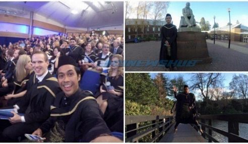 Berbaju Melayu Di Hari Graduasi Jadi 'Viral'