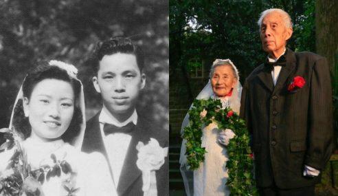 Pasangan Suami Isteri 'Berkahwin' Semula Selepas 70 Tahun