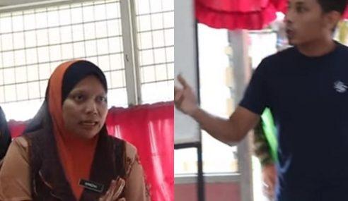 Video: Aksi Bapa 'Serang' Guru Wanita Tambat Hati Netizen